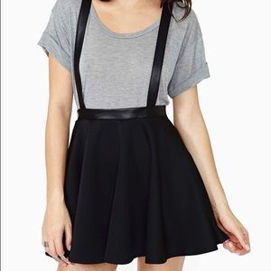 Nasty Gal Suspender Skirt